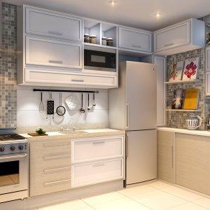 Apartamento Tipo - Cozinha